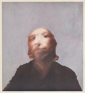 "RICHARD WILLIAM HAMILTON (British 1922-2011) A PRINT ""Portrait of the Artist by Francis Bacon,"" 1970,"