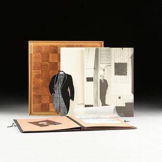 """A """"MARCEL DUCHAMP"""" DE LUXE EXHIBITION CATALOGUE, RONNY VAN DE VELDE, ANTWERP, 1991,"""