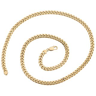 """NECKLACE IN 18K YELLOW GOLD Carabiner clasp. Weight: 109.1 g. Length: 25.5"""" (65.0 cm)"""
