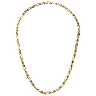 """NECKLACE IN 14K YELLOW GOLD. Carabiner clasp. Weight: 100.6 g. Length: 25.5"""" (65.0 cm)"""