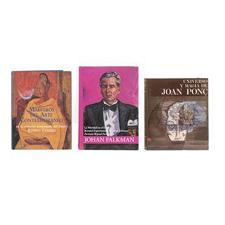 LIBROS SOBRE ARTE MODERNO. a) La Alteridad en el Espejo: Retratos Expresionistas de Johan Falkman.  Piezas: 3.