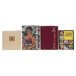LIBROS DE ARTE. a) El México de Luis Márquez. b) Museo de Arte Moderno. Tradición y Vanguardia. Piezas: 4.