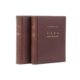 Libros de literatura del autor Loti, Pierre. Les Désenchantéss. París: Calmann Lévy, 1936. b) Vers Ispahan. Piezas: 2.