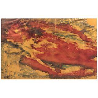 "JESÚS REYES FERREIRA ""CHUCHO REYES"". Sin título. Anilina sobre papel. 83.5 x 53.5 cm"
