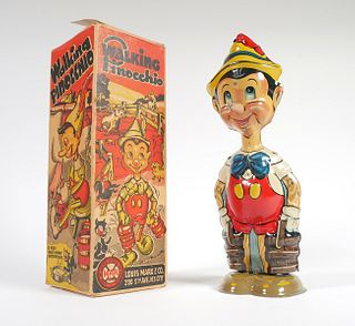 PINOCCHIO 1939 Marx Windup Tin Litho Toy