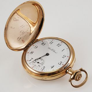 SOUTH BEND Model 1 Hunter Pocket Watch
