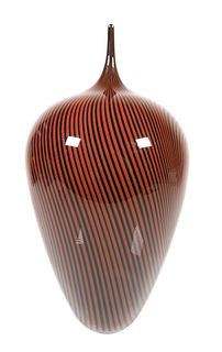 JEFF HOLMWOOD Art Glass Sculpture