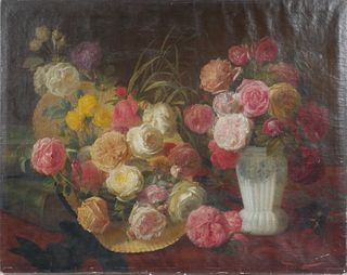 19th Century Dutch Still Life, Floral