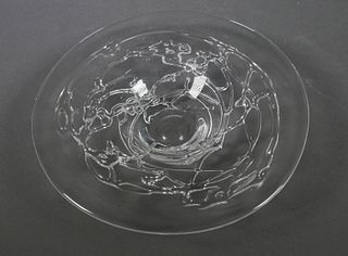 SYBREN VALKEMA, Leerdam Glass Unica Bowl