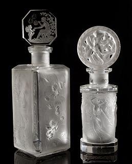 HOFFMAN Art Deco Nude Perfume Bottles (2)