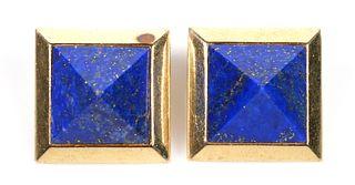PAUL MORELLI 14K Lapis Lazuli Designer Earrings