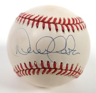 DEREK JETER 1996 Signed Baseball JSA