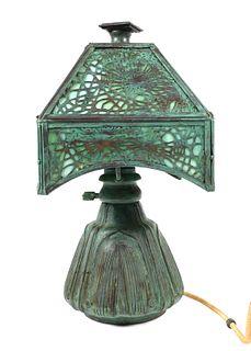 Tiffany Studios Style Budoir Table Desk Lamp