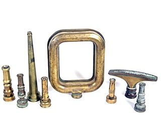 Collection of Brass Nozzles