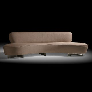 Vladimir Kagan, Serpentine sofa