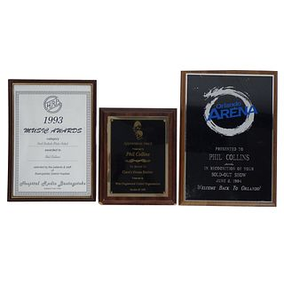 Assorted Phil Collins Awards
