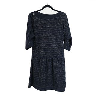Chanel Multi-Color Tweed Dress