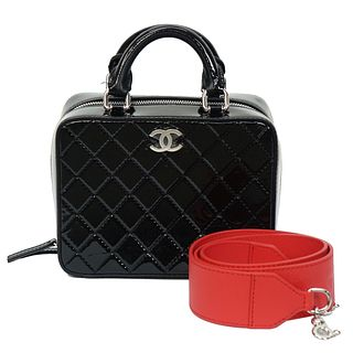 Chanel Vanity Case With Strap