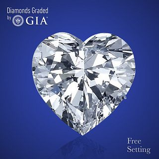 3.01 ct, D/VVS2, Heart cut Diamond. Unmounted. Appraised Value: $155,300
