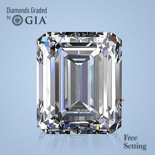 3.10 ct, G/IF, Emerald cut Diamond. Unmounted. Appraised Value: $138,300