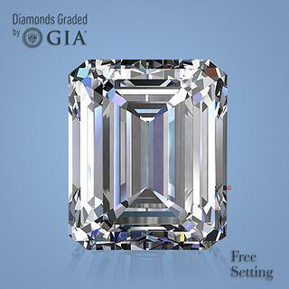 4.03 ct, D/VVS2, Emerald cut Diamond. Unmounted. Appraised Value: $318,300
