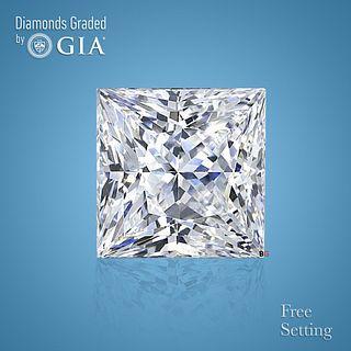 3.51 ct, D/FL, Princess cut Diamond. Unmounted. Appraised Value: $343,500