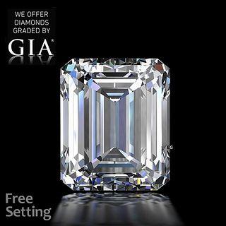 3.01 ct, G/VS1, Emerald cut Diamond. Unmounted. Appraised Value: $105,300