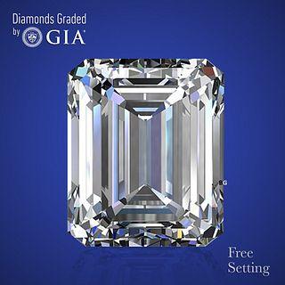 3.03 ct, F/VS2, Emerald cut Diamond. Unmounted. Appraised Value: $103,300