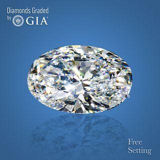 3.01 ct, D/VVS1, Oval cut Diamond. Unmounted. Appraised Value: $201,600