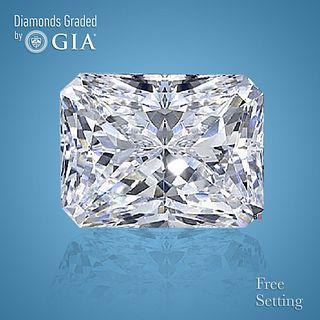 4.01 ct, E/VS1, Radiant cut Diamond. Unmounted. Appraised Value: $272,600