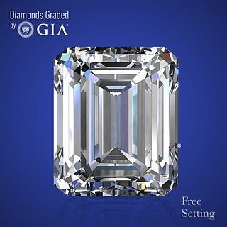 4.02 ct, F/VVS2, Emerald cut Diamond. Unmounted. Appraised Value: $273,300