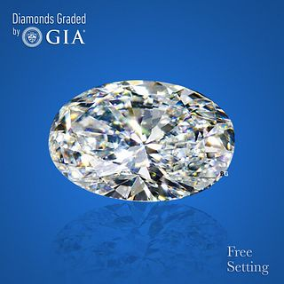 3.01 ct, G/IF, Oval cut Diamond. Unmounted. Appraised Value: $134,300