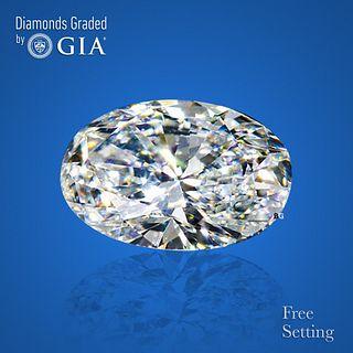 3.50 ct, D/VS1, Oval cut Diamond. Unmounted. Appraised Value: $162,300