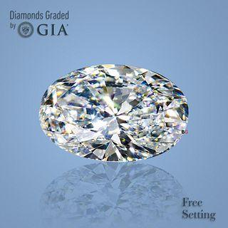 5.02 ct, E/VS1, Oval cut Diamond. Unmounted. Appraised Value: $559,100