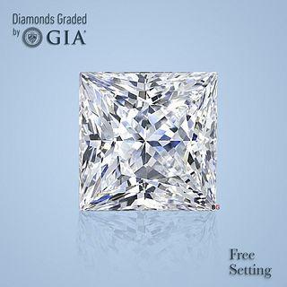 3.01 ct, D/IF, Princess cut Diamond. Unmounted. Appraised Value: $294,600