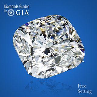 1.70 ct, E/VVS1, Cushion cut Diamond. Unmounted. Appraised Value: $37,700