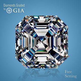 3.30 ct, F/VVS1, Square Emerald cut Diamond. Unmounted. Appraised Value: $153,000