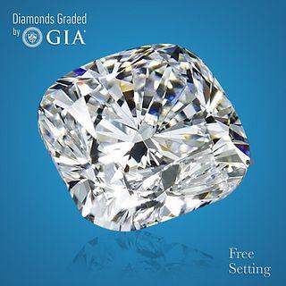 4.01 ct, G/VS1, Cushion cut Diamond. Unmounted. Appraised Value: $189,400