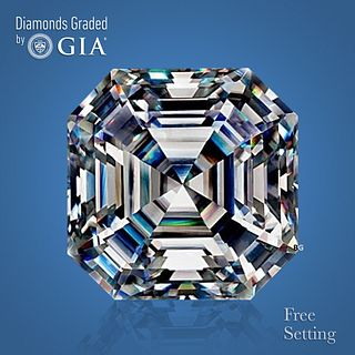3.01 ct, H/VVS1, Square Emerald cut Diamond. Unmounted. Appraised Value: $102,700