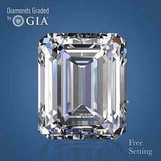 4.01 ct, G/VVS2, Emerald cut Diamond. Unmounted. Appraised Value: $203,500