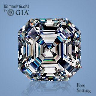 3.01 ct, I/VVS2, Square Emerald cut Diamond. Unmounted. Appraised Value: $76,300