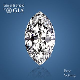 3.52 ct, D/VS1, Marquise cut Diamond. Unmounted. Appraised Value: $163,200