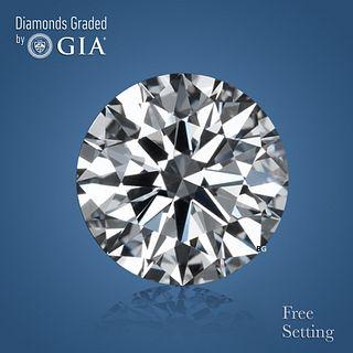 1.01 ct, E/VVS1, Round cut Diamond. Unmounted. Appraised Value: $22,800