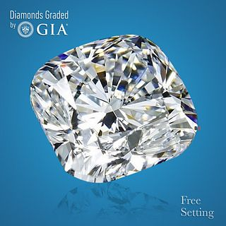 3.03 ct, E/VVS1, Cushion cut Diamond. Unmounted. Appraised Value: $156,400