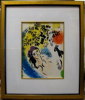 Chagall Man and Woman