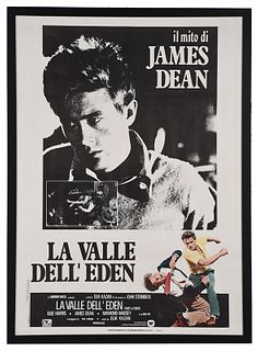 La Valle Dell'Eden, Italian Movie Poster