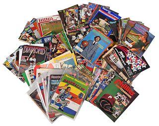 Over 100 Sports Magazines