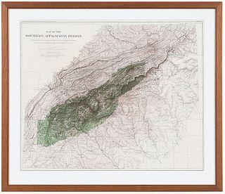 Bien - Map of the Appalachian Region