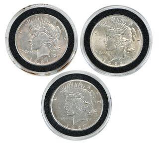 Peace Dollar Set