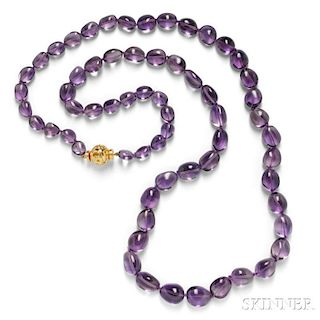 Amethyst Bead Necklace, Verdura